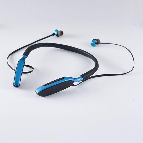 Bluetooth Earpiece Headset Bluetooth Earphones Neckband-Blue