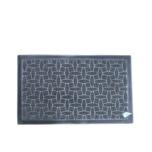 Polystyrene Grass Foot Mat- Black