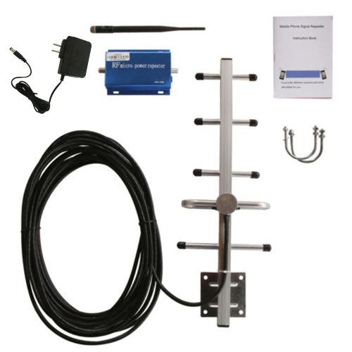 GSM 900MHZ External Outdoor Repeater Signal Mobile Phone Amplifier Blue