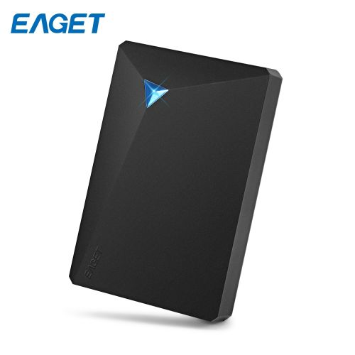 EAGET G20 HDD USB 3.0 External Hard Disk Drive Electronics Storage Device 1TB BLACK