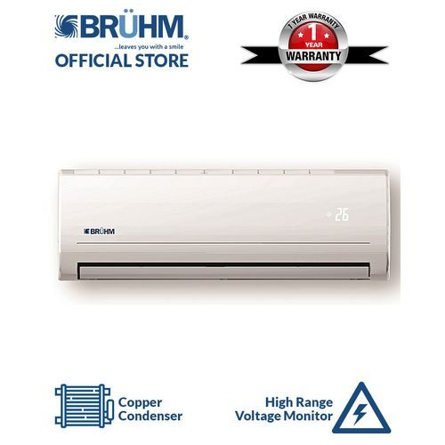1HP Split Air Conditioner + Installation Kit