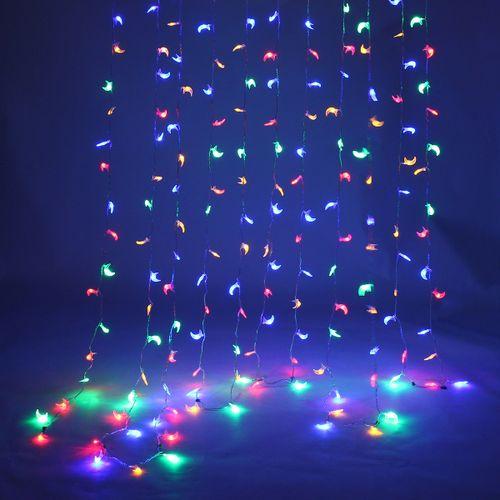 Moon Shape LED String Fairy Lights USB Battery Plug In Home Party Xmas Wedding
