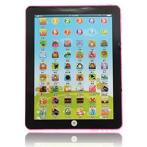 Multi-functional Pad For Kid Children Learning Educational Computer Mini Tablet Toy