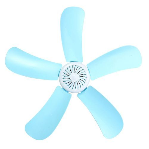 220V 8W Portable 4 Leaves Mini Ceiling Fan With Power Switch Energy Saving Fan