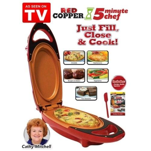 Cook Meals Snacks And Desserts Red Copper 5minute Chef