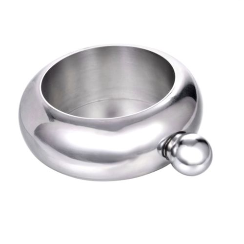 Flask Bangle Creative Stainless Steel 304 And Hip Funnel Set