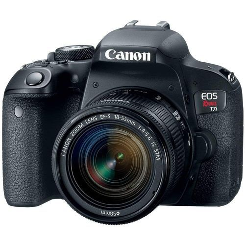 EOS Rebel T7i DSLR Camera With EF-S 18-55mm