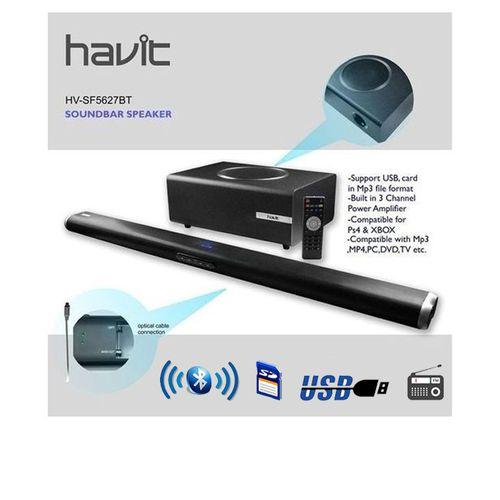Powerful Bluetooth Soundbar Speaker With Remote Control - HV-SF5627BT