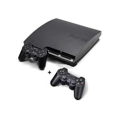 Sony PlayStation 3 Console SLIM 320GB WITH 2pad