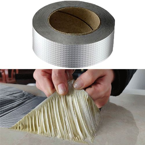 Aluminum Foil Waterproof Duct Repair Crack Adhesive Tape