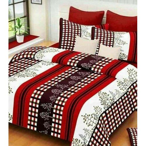 Bedsheets With 2/4pillowcases-multicolored