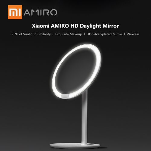 Xiaomi AMIRO HD Mirror 60? Rotation Daylight Led Mirror Lamp
