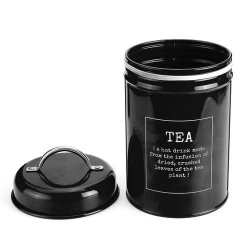 3pcs Kitchen TEA COFFEE SUGAR Candy Food Storage Bottle Steel Jars Tanks Box