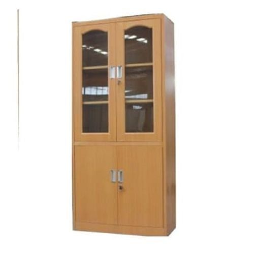 Metal Cabinet With Glass And Metal Door With Lock