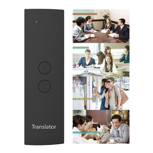 Portable Voice Translator Learning Meeting Travel Handheld Multi-language Simultaneous Fast Business Real Time QLANG