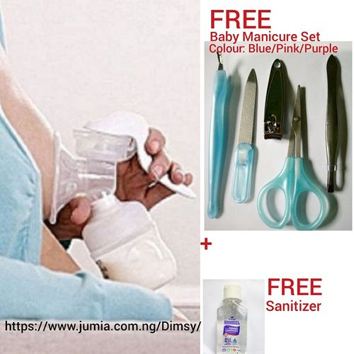 Manual Breast Milk Expressing- Extractor- Suction Pump