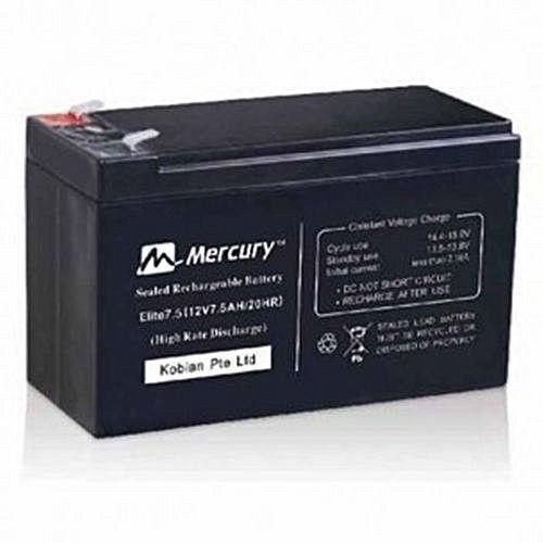 Mercury Elite 7.5ah 12v Ups Replacement Battery