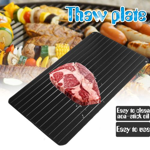 Fast Defrosting Meat Tray Rapid Safety Thawing Tray For Frozen Food Kitchen Tool