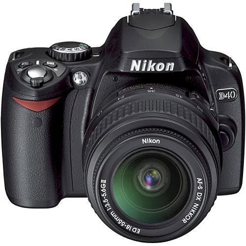 D40 DSLR Camera With 18-55mm Kit Lens