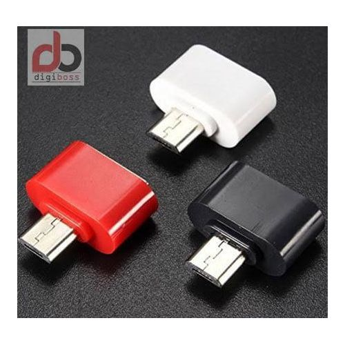 3pcs OTG USB Adapter For OTG Supported Mobile Phones/devices