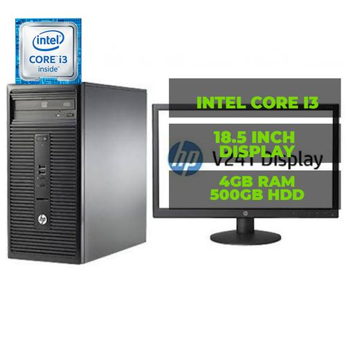 """290 INTEL CORE I3 4GB RAM 500HDD FREEDOS 18.5""""MONITOR WITH FREE PREMAX WIRELESS MOUSE"""