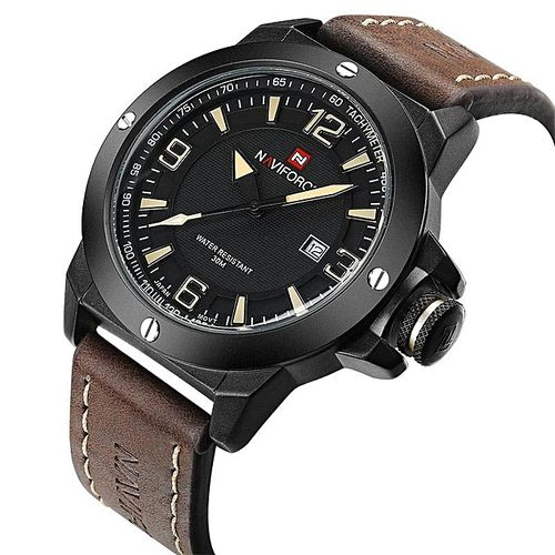NAVIFORCE NF9077B Y DBN New Luxury Brand Naviforce Men Classic Military Watches Men's Quartz Date Clock Male Sports Wrist Watch Relogio Masculino