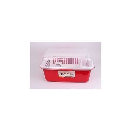 Generic Large Size Plastic Plate Rack With Drainer/Covering