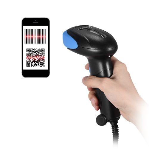 Aibecy Handheld 2D/ QR/ 1D Barcode Scanner Bar Code Reader
