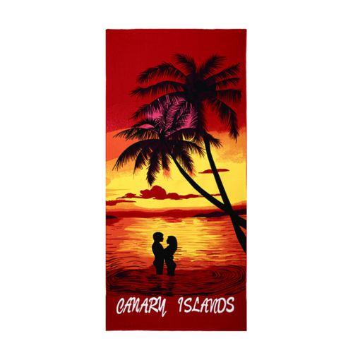 Generic Square Beach Towel Sand Beach Flag Printed Beach Cover Up Bikini
