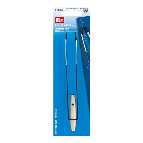 Prym 610356 Tweezers With LED Lamp