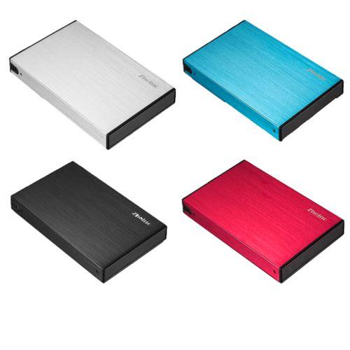 Zheino P2 2.5 Inch USB3.0 SSD 128GB Portable External Hard Disk Drive Aluminum Case Super Speed 2.5 SATA3 60gb Solid State Drive