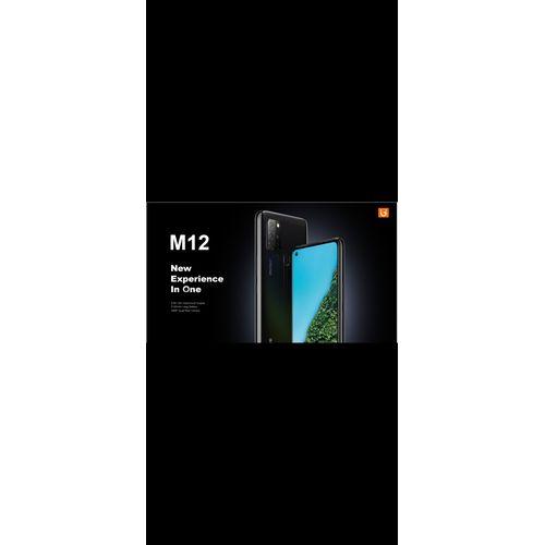M12, 6.55-Inch HD+ (6GB RAM, 128GB ROM) Android 10 (48MP + 5MP + 2MP + 2MP) + 16MP Dual SIM 4G LTE - BLACK