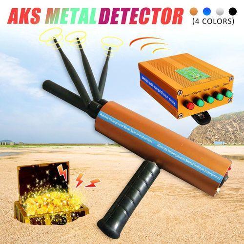 AKS Detective Handhold 3D Pro Metal/Gold/Gems Detector Long Range Diamond Finder