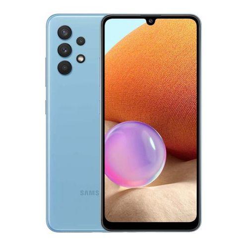 "Samsung Galaxy A32 - 6.4"", 6/128GB Memory, Camera - 64/8/5/5MP, 20MP Selfie, Dual SIM, 5,000Mah Battery, 4G LTE - blue"