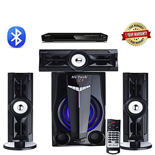 HOME THEATRE SYSTEM WITH BLUETOOTH + DVD PLAYER