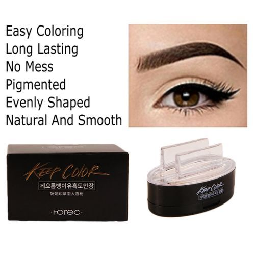 Eyebrow Definer Stamp & Eye Shadow Makeup