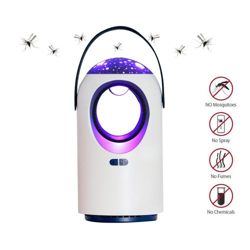 Zowam Mosquito Killer Lamp, Non-toxic And Chemical Free Mos