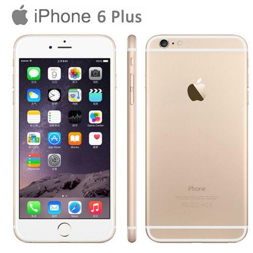 IPhone 6 Plus 5.5'' 16GB ROM 8MP IOS Smartphone With Fingerprint Sensor(Refurbished)-Gold