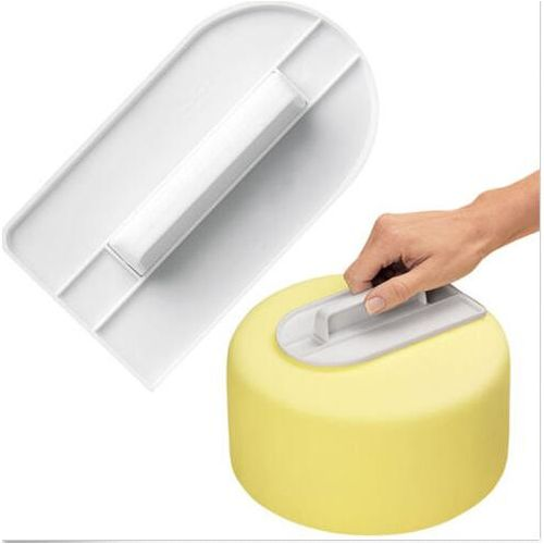 1PCS Decorating Fondant Sugarcraft Icing Mold Cake Smoother Polisher Tools Cutter Kitchen Baking Mold Tools For Cake Pastry