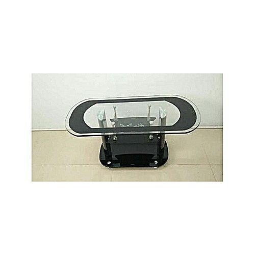 Oval Shaped Glass Center Table (Prepaid Orders Only)