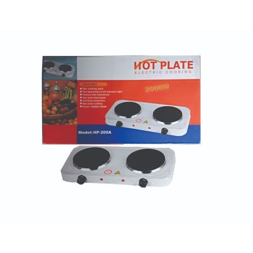 Electric Hot Plate-2 Burners