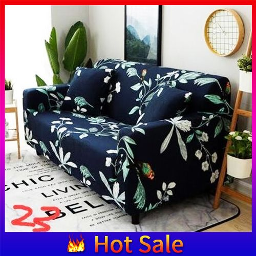 1/2/3/4 Seater Sofa Slipcover Stretch Protector Soft Couch Love Seat Chair Cover