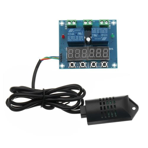 DC 12V XH-M452 Temperature And Humidity Controller Module Digital Display Colorful