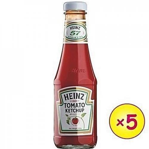 Tomato Ketchup X 5pcs