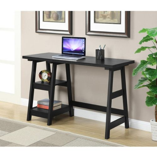 A&S - Trestle Wood Desk (Delivery Within Lagos Only)