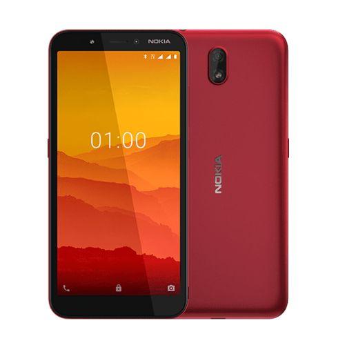 "C1 5.45"" 1GB 16GB Android 9.0 Pie 5+5 Mp 2500 MAh - Red"