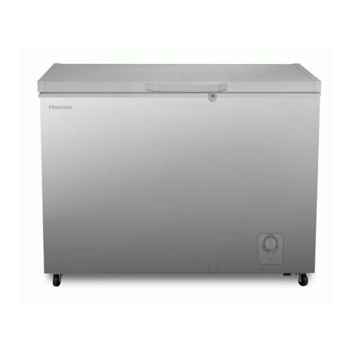 250 Liters Fast Freeze Chest Freezer -Silver