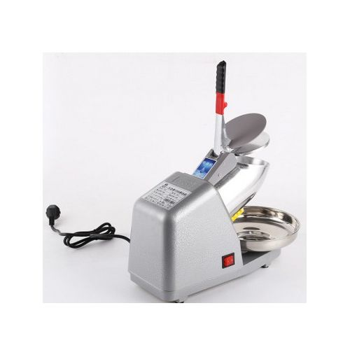 Commercial Household Manual Electric Ice Crusher Shaver Machine Snow Cone Maker 110V