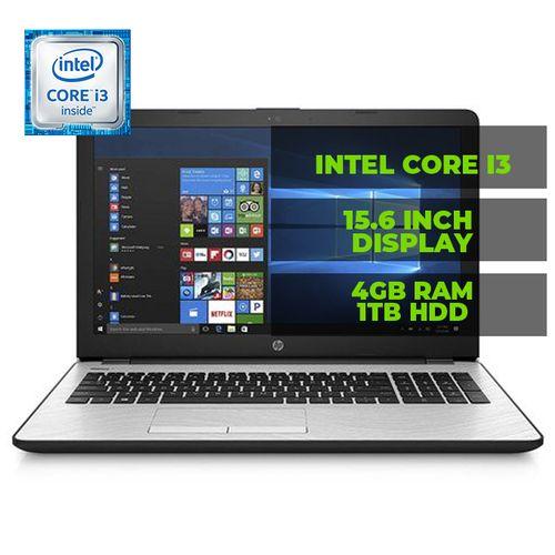 Notebook 15-bs031wm Intel® Core™ I3-7100U 2.4GHz 4GB RAM 1TB HDD 15.6 Windows 10 Laptop - Silver