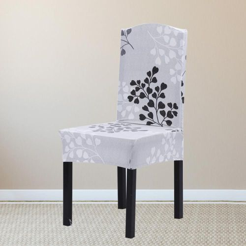 1Pc Removable Stretch Home Chair Seat Covers Romantic Printing Slipcovers Party Decoration- #4